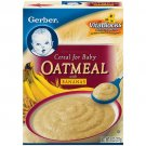 Gerber Fruit Cereals Oatmeal w/Bananas Cereal For Baby, 8 Oz
