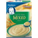 Gerber Dry Cereals Mixed Grain Cereal For Baby, 16 Oz