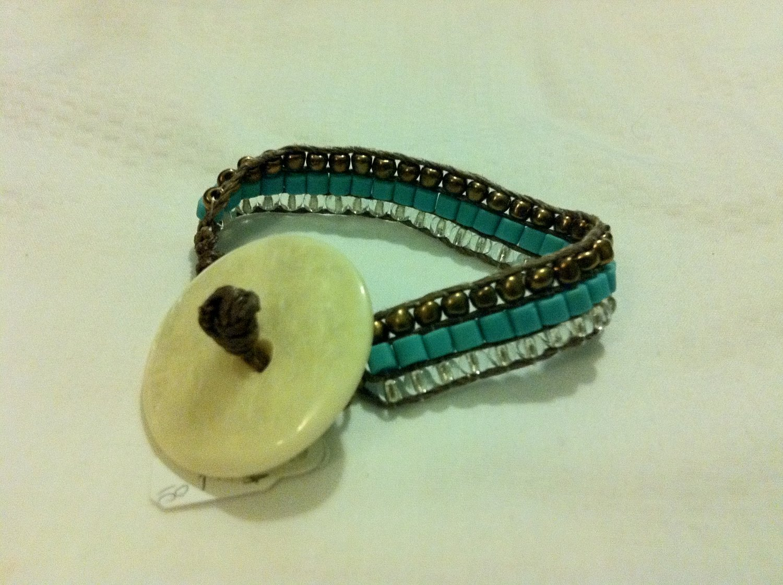 Beachy Weave Bracelet