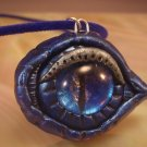 Mystical Royal Blue Dragon's Eye Necklace