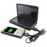 Solar Battery Charger for iPods, Phones, Cameras and USB Devices