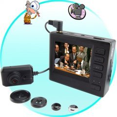 High Definition Mini Pinhole Spy Camcorder