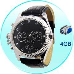 Secret Agent DVR Spy Watch - Classic Design