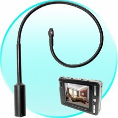Inspection Surveillance Video Camera - Flexible Pinhole Camera