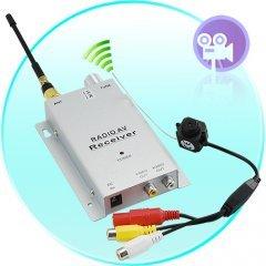 1.2GHz Wireless Pinhole A/V PAL Camera + Receiver Set