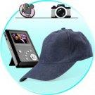 Spy Cap Hidden Recorder - Spy Kit with Camera + DVR + SD Card