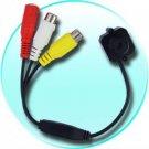 Micro Wired Pinhole Color Audio Camera