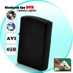 Blackjack Spy DVR Camera Lighter