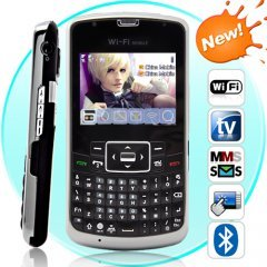 Amigo Pro - Touchscreen WiFi Dual-SIM Cellphone with QWERTY Keyboard