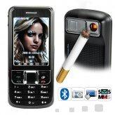 Machismo - Cigarette Lighter Cellphone (Touchscreen, Dual SIM)
