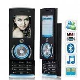 Fiesta Deluxe Pocket Slider Phone (Quad Band, Dual SIM)