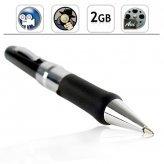 Secret Agent Pen Camcorder with Audio - 2GB