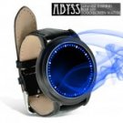 Abyss - Japanese Inspired Blue LED Touchscreen Watch