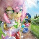 POSTER - 011 - 'Sonic Amy Rose and the trail of gems towards happiness'