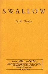 Swallow by D.M. Thomas - Uncorrected Book Proof / RARE