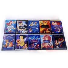 10 Walt Disney Dvds Brand New!
