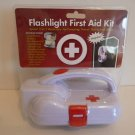 FLASHLIGHT FIRST AID KIT MAGNETIC EMERGENCY AID KIT