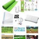Nintendo Wii System HD Ready + Wii Fit Plus, Balance Board Mat Bundle