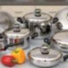 Chef's Secret 14pc 9-Element Cookware Set