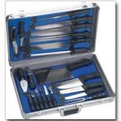 Slitzer 21pc Professional ChefsCutlery Set in Case