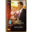 Baby Benefits by Emily McKay Silhouette Billionaires and Babies Series PB Book Oct 2008 Issue 1902