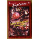 A Long Hot Christmas by Barbara Daly Harlequin Temptation PB Book Dec 2001 Issue 859