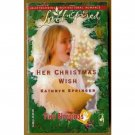 Her Christmas Wish by Kathryn Springer Love Inspired Tiny Blessings Series PB Book Nov 2005