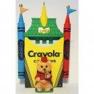 Crayola Crayon Series 5 Ornament Bright Shining Castle Hallmark Christmas Collectible 1993 MIB