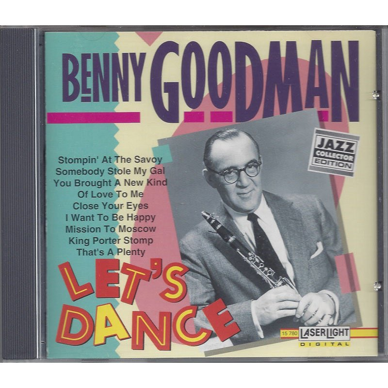 Benny Goodman Let's Dance Jazz Collector Edition CD 1992