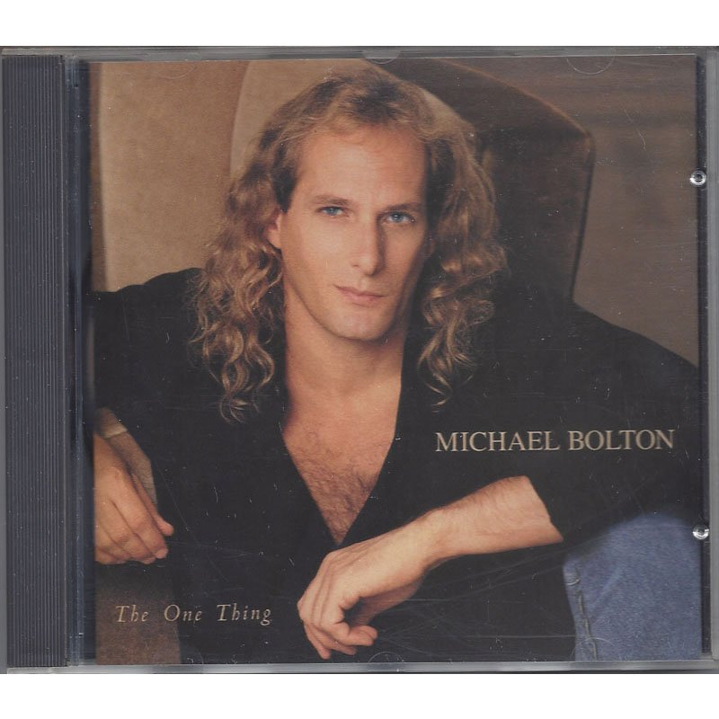Michael Bolton The One Thing CD 1993