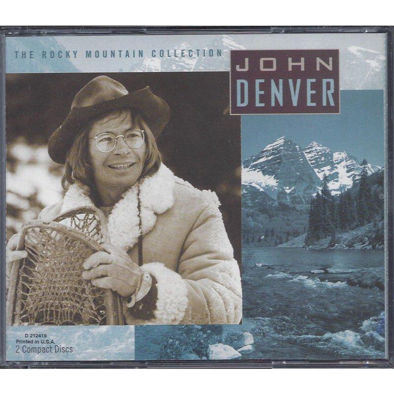 John Denver The Rocky Mountain Collection 2-CD Set 1996 Digitally Remastered Club Edition