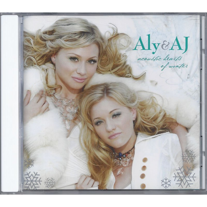 Aly and AJ Acoustic Hearts of Winter Christmas CD 2006