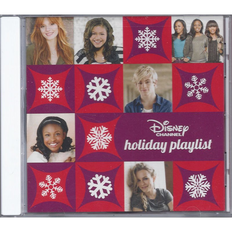 Disney Channel Holiday Playlist Various Disney Artists Christmas CD 2012