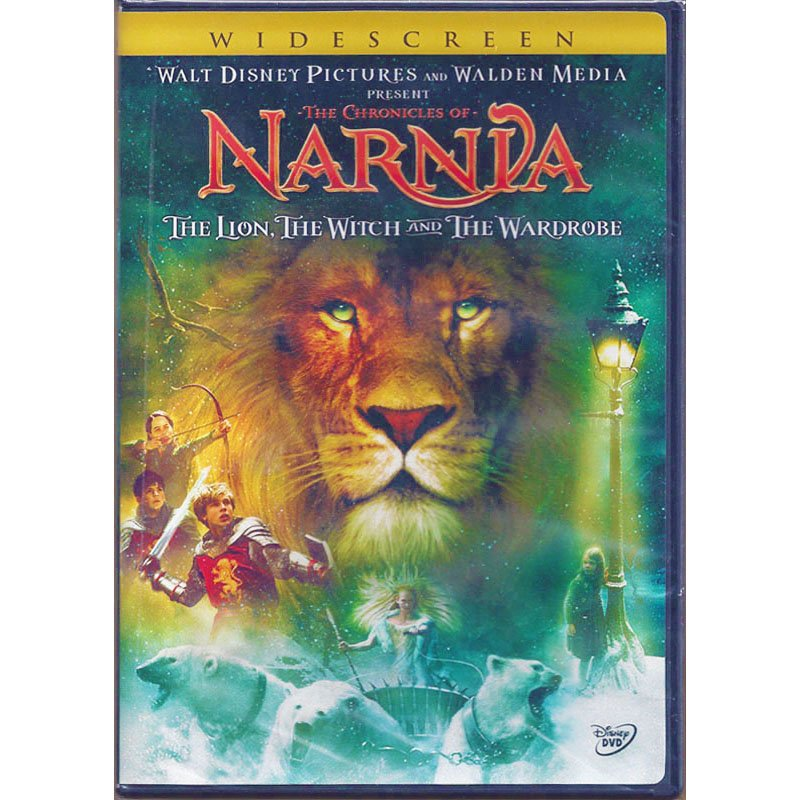 The Chronicles of Narnia The Lion The Witch and The Wardrobe Disney DVD