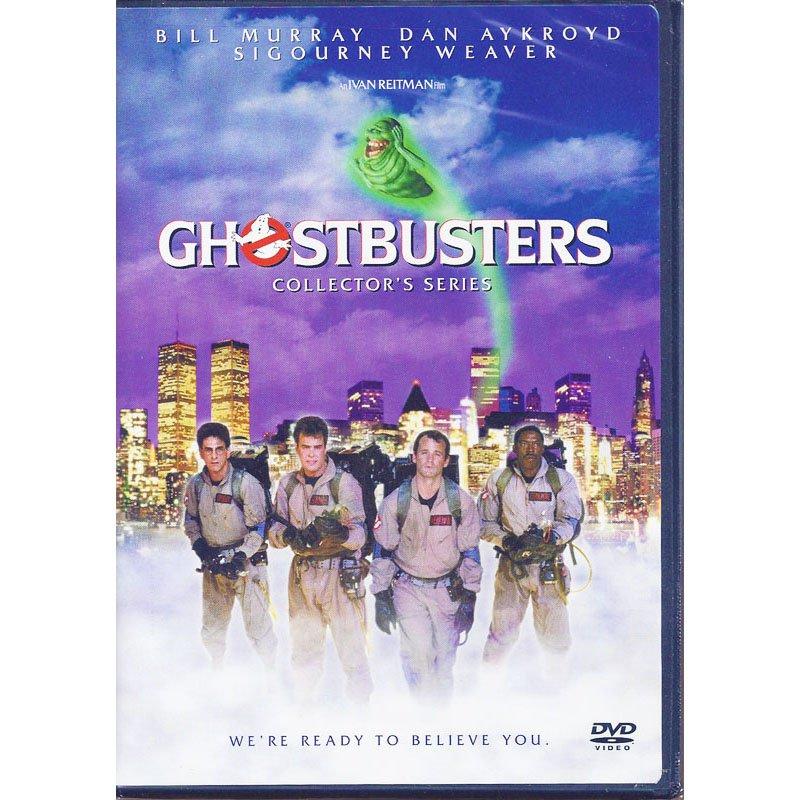 Ghostbusters Collector's Series DVD Bill Murray Dan Aykroyd Sigourney Weaver Harold Ramis Widescreen