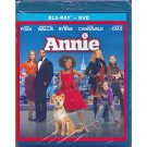 Annie Blu-Ray + DVD Jamie Foxx Cameron Diaz Quvenzhane Wallis Rose Byrne 2015