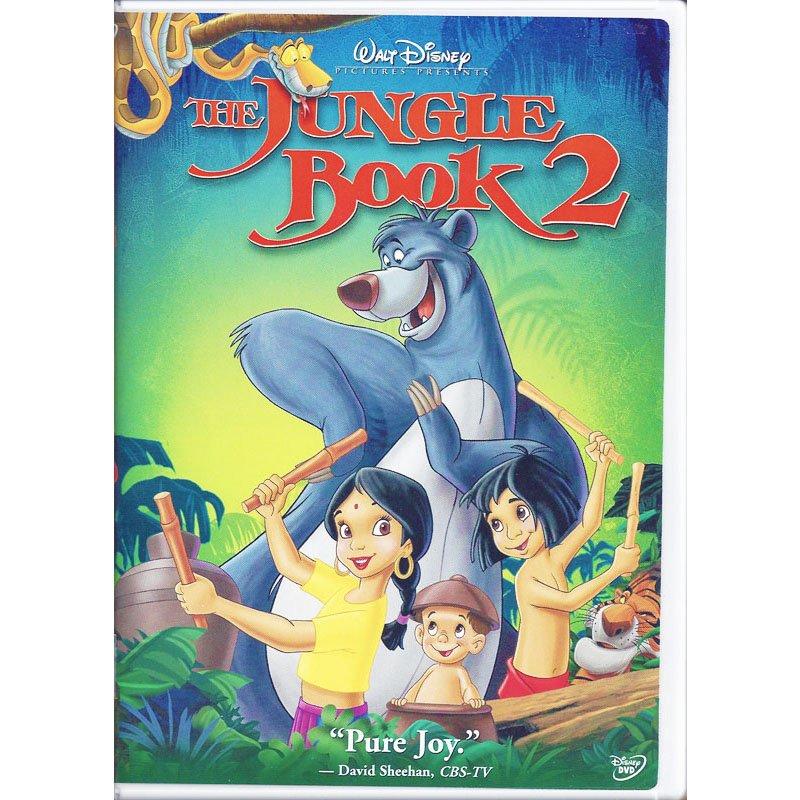 The Jungle Book 2 Disney Animated Movie DVD Haley Joel Osment John Goodman Widescreen