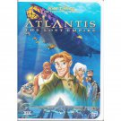 Atlantis The Lost Empire Disney Animated Movie DVD Michael J Fox Widescreen and Full Screen
