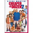 Cheaper by the Dozen 2 DVD Steve Martin Hilary Duff Tom Welling Widescreen and Full Screen