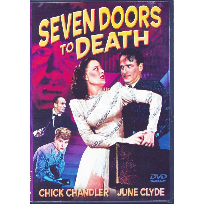 Seven Doors to Death DVD Chick Chandler June Clyde A Jim McMillan Detective Story 1944 B&W
