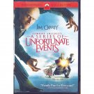Lemony Snicket's A Series of Unfortunate Events DVD Jim Carrey Jude Law Meryl Streep Widescreen