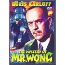 The Mystery of Mr Wong DVD Boris Karloff Grant Withers Dorothy Tree Holmes Herbert 1939 B&W
