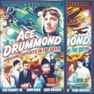 Ace Drummond Vols 1-2 Chapters 1-13 2-DVD Set John King Jean Rogers Lon Chaney Jr 1936 B&W