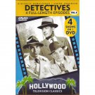 Hollywood Classics Detectives DVD Dick Tracy Mark Saber Treasury Men in Action Dragnet