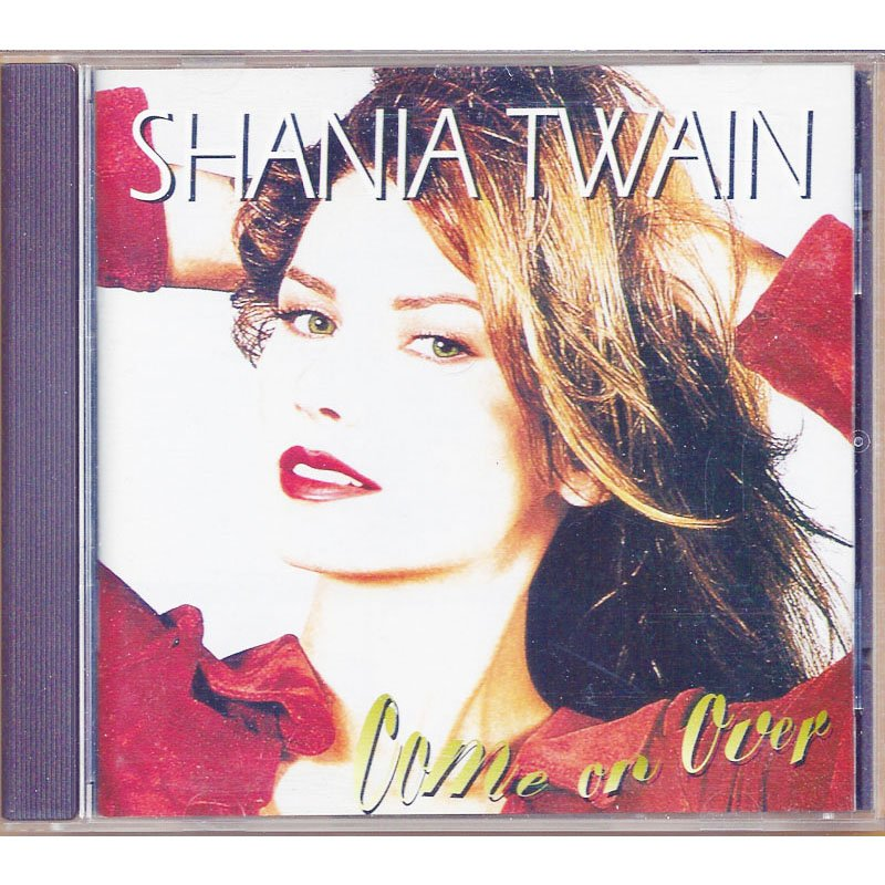 Shania Twain Come on Over CD 1997 Club Edition