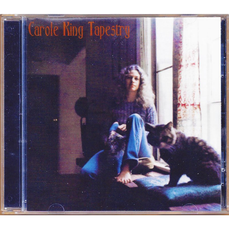 Carole King Tapestry CD with Lyrics and Bonus Tracks 70s Classic Pop Rock Music 1999