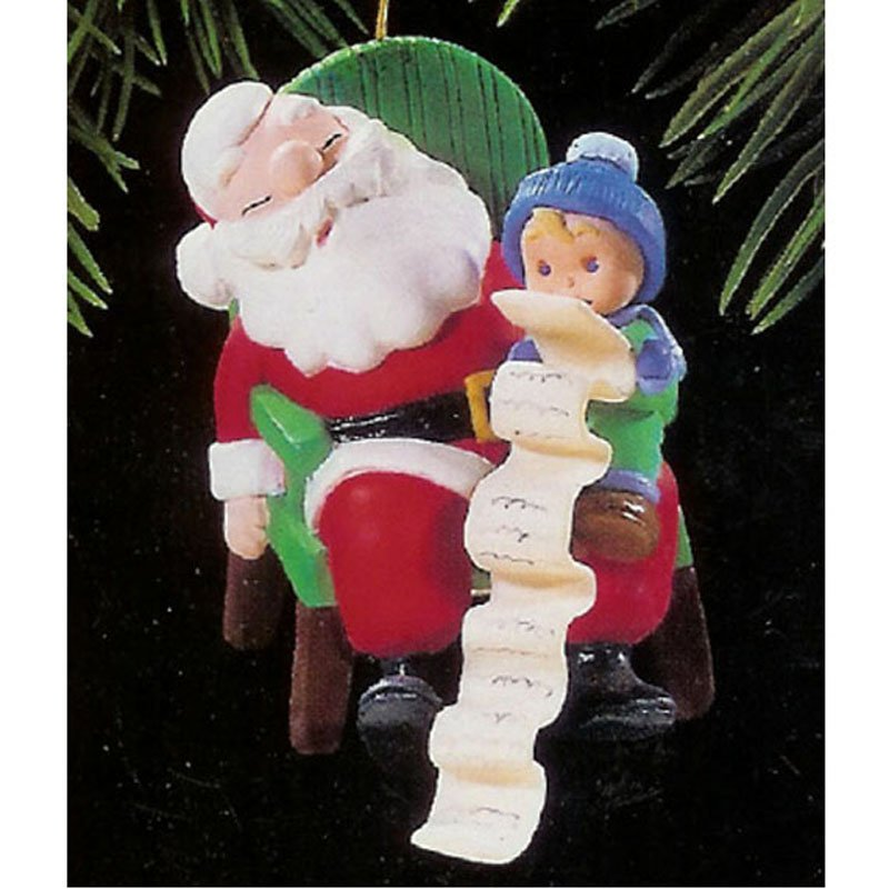 Dream On Hallmark Keepsake Christmas Ornament 1995 Vintage Collectible MIB QX6007