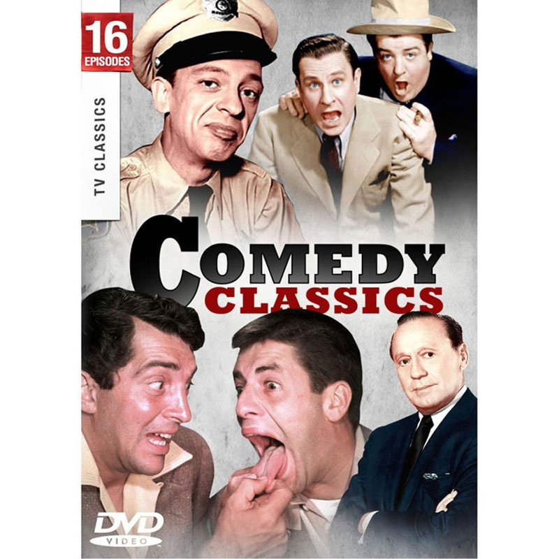 Comedy Classics DVD Andy Griffith Martin and Lewis Abbott and Costello Jack Benny Full Screen