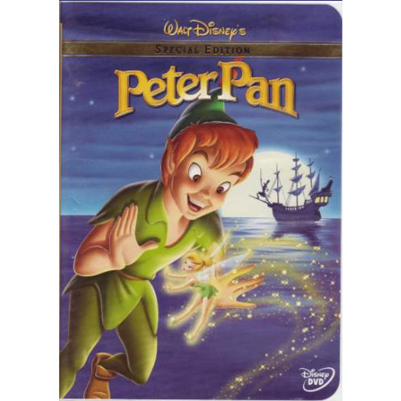 Peter Pan Disney DVD Special Edition 2002 Release Digitally Remastered and Restored