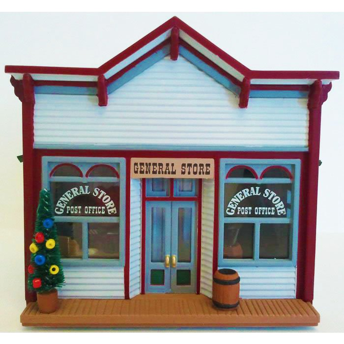 Mrs. Parkley's General Store Sarah Plain and Tall 1994 Hallmark Christmas Collectible XPR9451 NIB